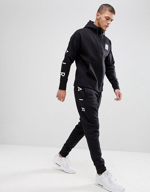 9816e0de20e8 Nike Air Joggers In Skinny Fit In Black 886048-011 | conjunto | Track pants  mens, Nike outfits, Nike men