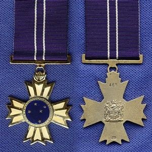 South Africa. The Southern Cross Decoration, post-nominal letters SD, is a South African military decoration for merit that was instituted by the Republic on 1 July 1975. It was awarded to officers of the South African Defence Force for outstanding service of the highest order and utmost devotion to duty.  Established : 1975