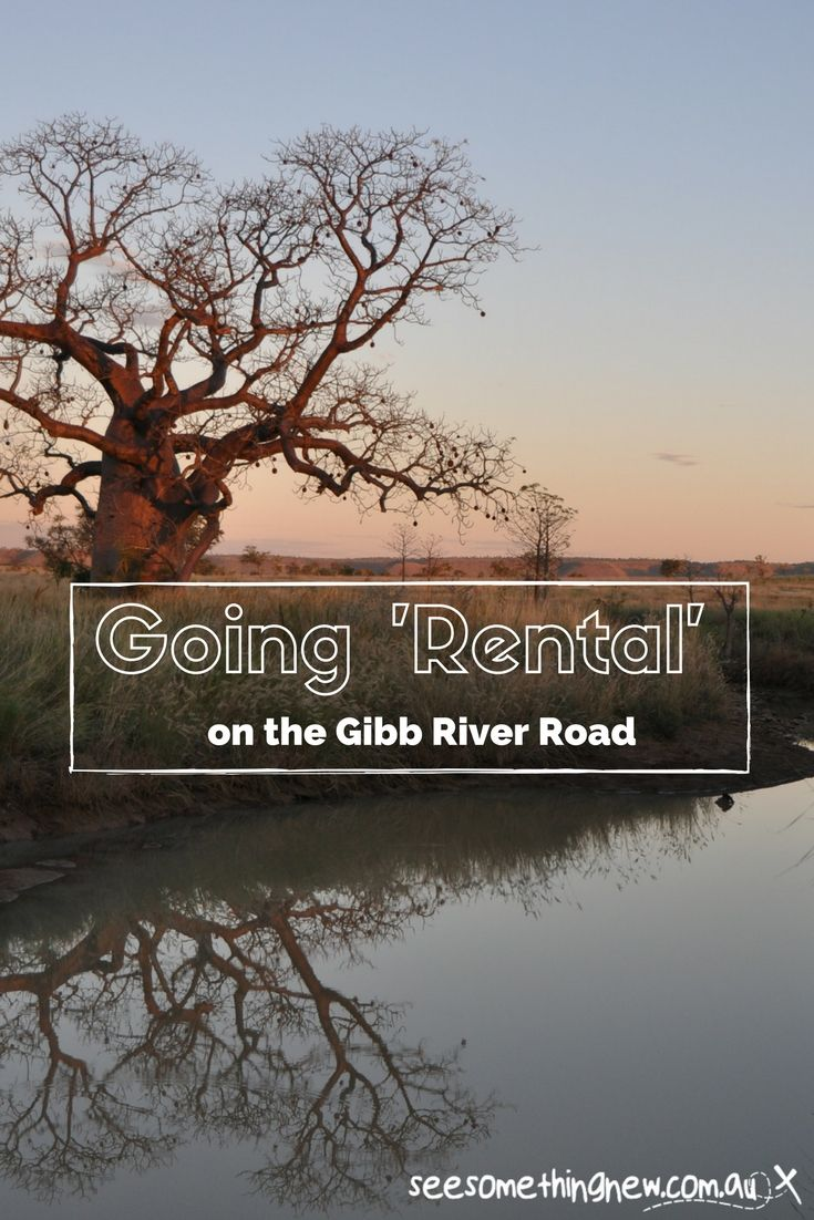 An overview of travelling the Gibb River Road in a rental car
