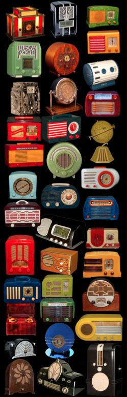 Modern manufacturers need to get their stuff together and make radios worth buying again, Deco Radio heaven