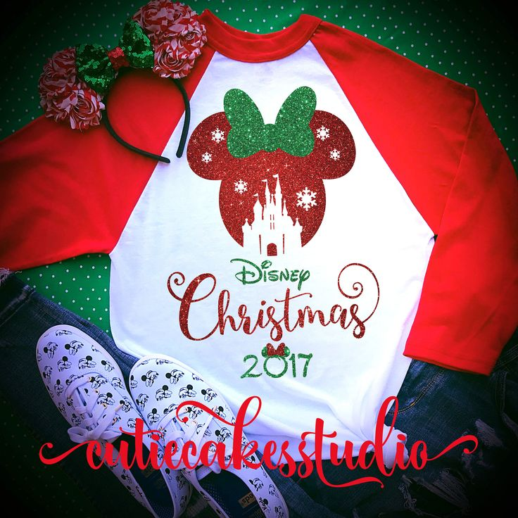 disney shirt - disney Christmas shirt - mickey's very merry Christmas party - disney world shirt -  disney vacation t-shirt - disney raglan by Cutiecakesstudio on Etsy