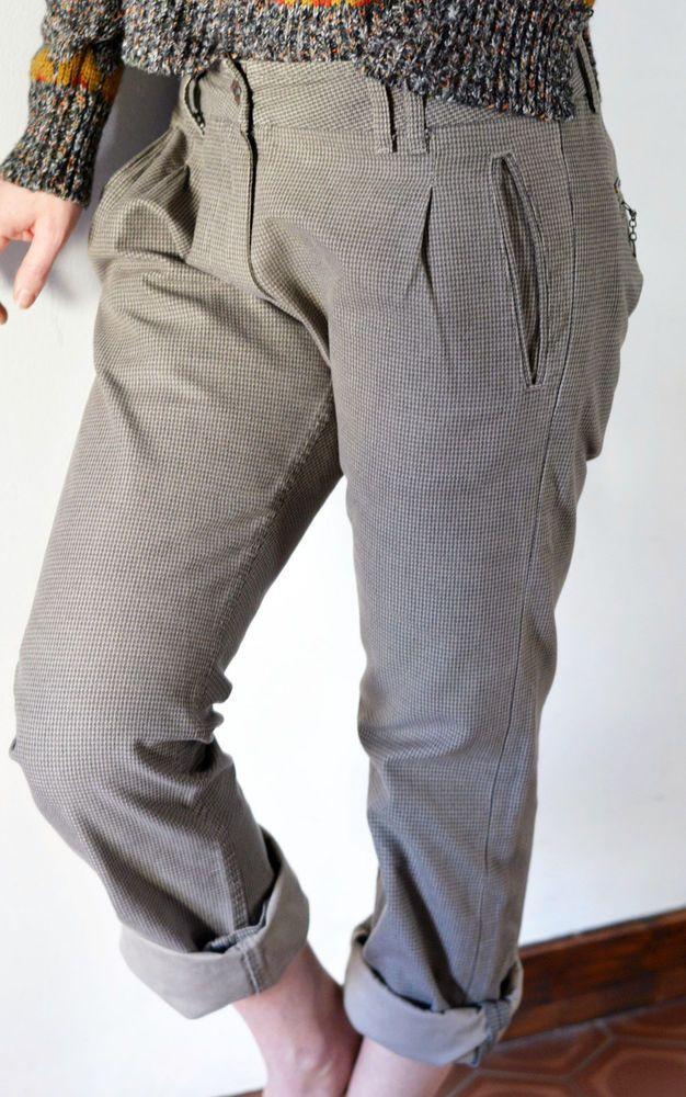 Pantalon Diesel chino à carreaux Taille 40 #Autrespantalons