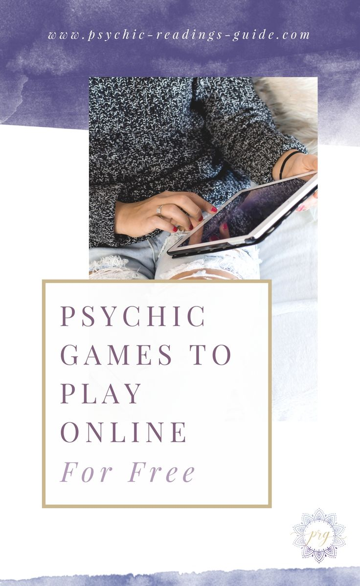 Here are some super fun and free psychic games that you can play online. Get your bunny slippers, grab a latte, and enjoy! via @PRG_psychic