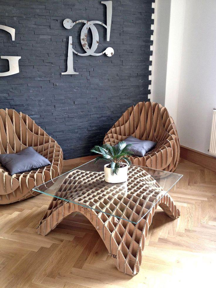 Recycled #cardboard #furniture