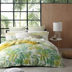 Lorne Green Duvet Cover Set by Platinum Collection