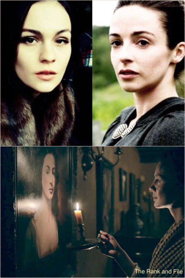 2-08 going back to Lallybroch triggered a memory. The Fraser Women: Brianna, Jenny, Claire, and Ellen.