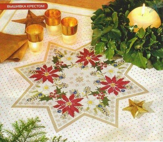 Κεντήματα-σχέδια, Χριστούγεννα-Πρωτοχρονιά, Embroidery-designs, Christmas-New Year, Вышивка-дизайн, Рождество-Новый год