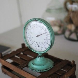 Blue Farmhouse Thermometer