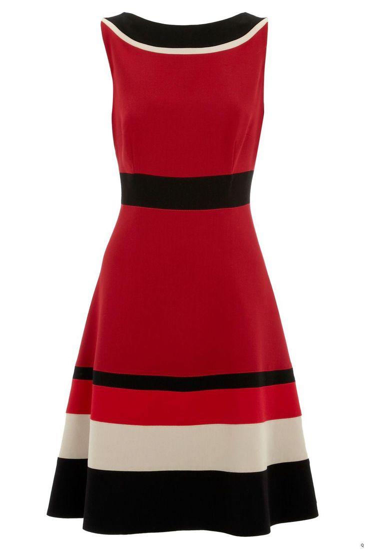Schnittführung Kleid, colorblocks, auch UNTERSCHIEDLICHE MAterialien (Chiffon/Plissee, Interlock/Paillettenbesatz)