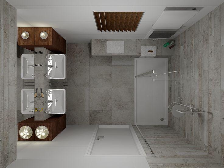 Badkamer van de maand in het gratis badkamer & tegels magazine van december 2014. Ook een bijzonder 3D ontwerp ontvangen voor uw eigen badkamer of toilet? Vraag een gratis badkamerontwerp aan op http://www.sani-bouw.nl/badkamer-ontwerpen