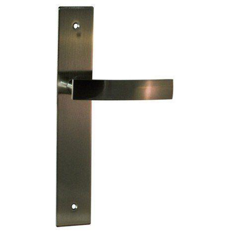Poignée de porte Passy 40mm sans trou en métal mat