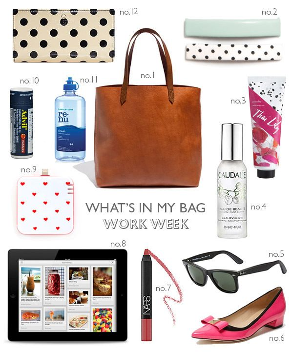 136 best What's in My Bag? images on Pinterest | Purse essentials ...