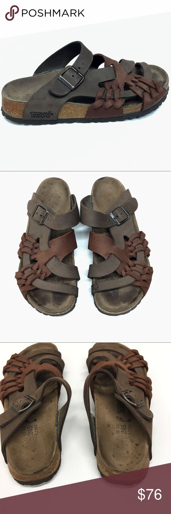 Rare Pisa Tatami Birkenstock Size  L7 M5 Shoes are in excellent used condition. Birkenstock Shoes Sandals