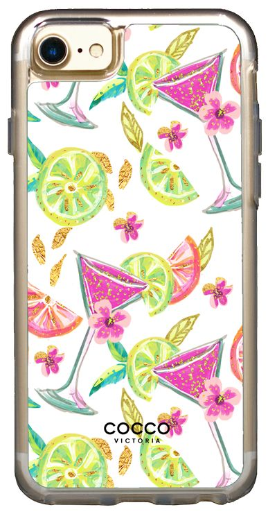 Cocktail Time Vogue Case - iPhone 7/6S/6 - coccovictoria.com