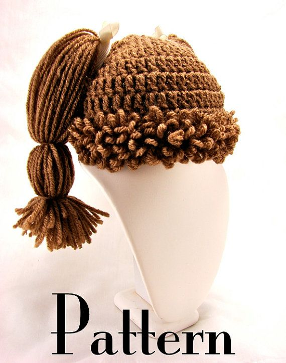 Cabbage Patch Knit Hat Pattern | Cabbage Patch Wigs: For Everyone Who Feels the 1980s Came and Went Far ...