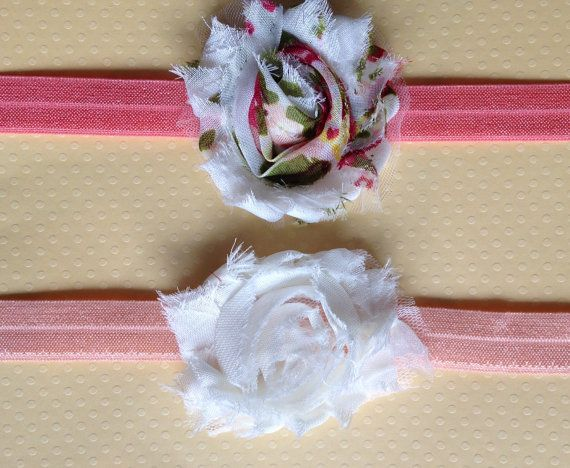6-12 months Little Miss Romance Headband Set by BooLouBaby on Etsy