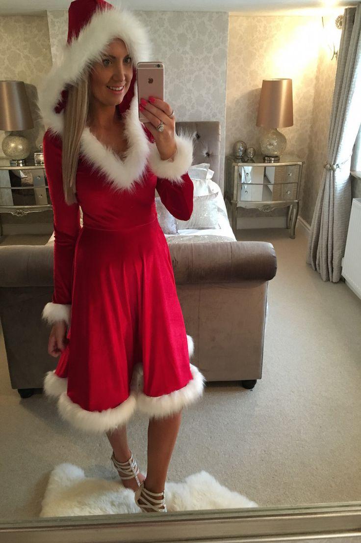 Wantthattrend - Luxury Velvet Santa Dress , £29.95 (http://wantthattrend.com/luxury-velvet-santa-dress/)