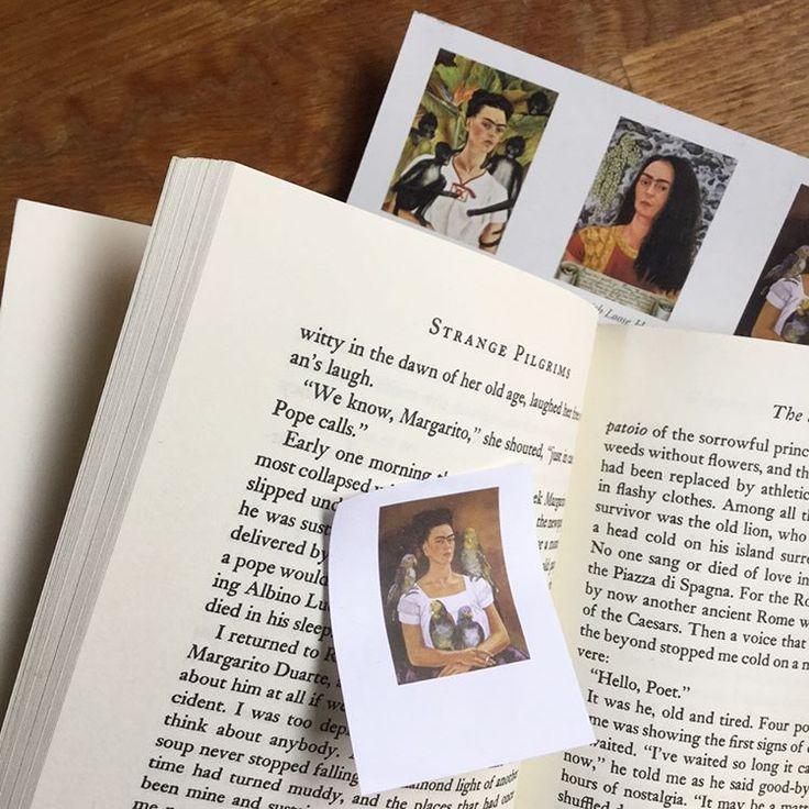 #BookmarkMonday: Frida Kahlo and Strange Pilgrims / guiltless reading