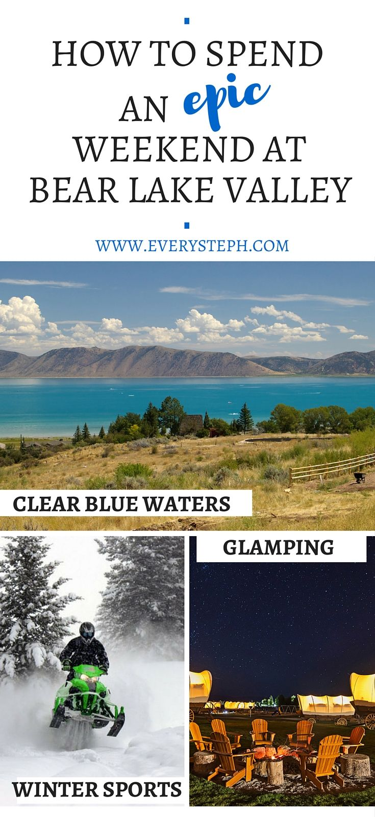 How to spend an EPIC weekend at Bear Lake Valley (Utah, Idaho)