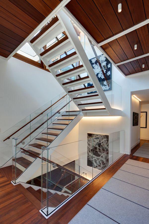 Three-story barn transformed into modern house
