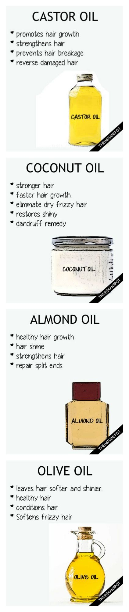 Hair DIY oils