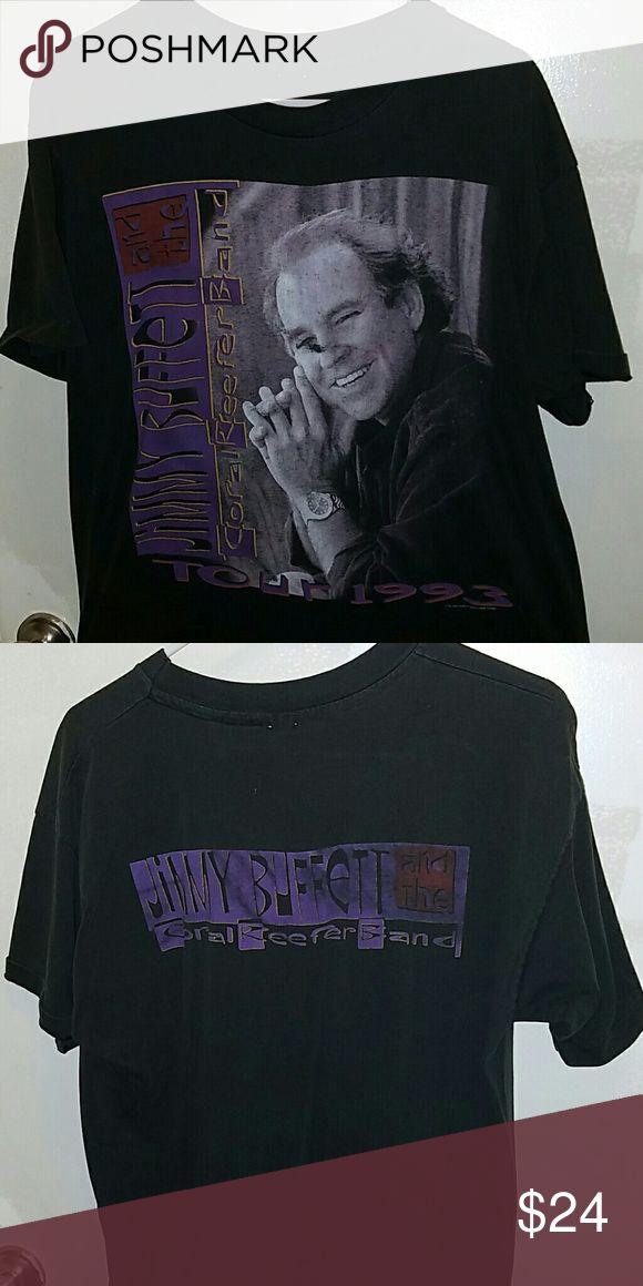 Authentic Jimmy Buffett 1993 concert shirt Size L Jimmy Buffett 1993 concert shirt Jimmy Buffett  Shirts Tees - Short Sleeve