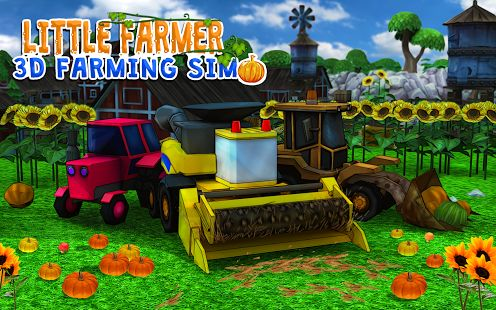 Little Farmer: 3D Farming Sim | Hello guys! The harvesting season is here! Start playing our brand new simulation game and put your farming skills to work! #farmingsimulator #androidgames #indiedev #indiegame #simulationgames #cartoongames