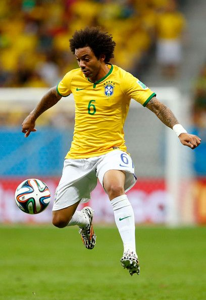 Marcelo in Cameroon v Brazil: Group A - 2014 FIFA World Cup Brazil