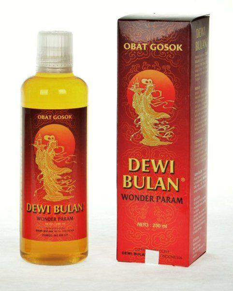 Minyak Gosok Dewi Bulan - Wonder Param  Kemasan Refil 250 ml