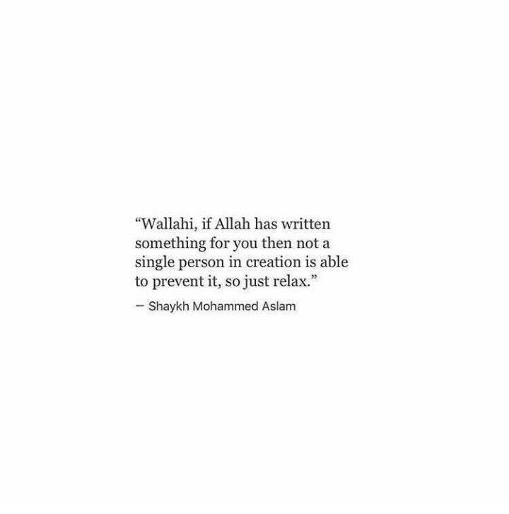 If allah written something to you❤️