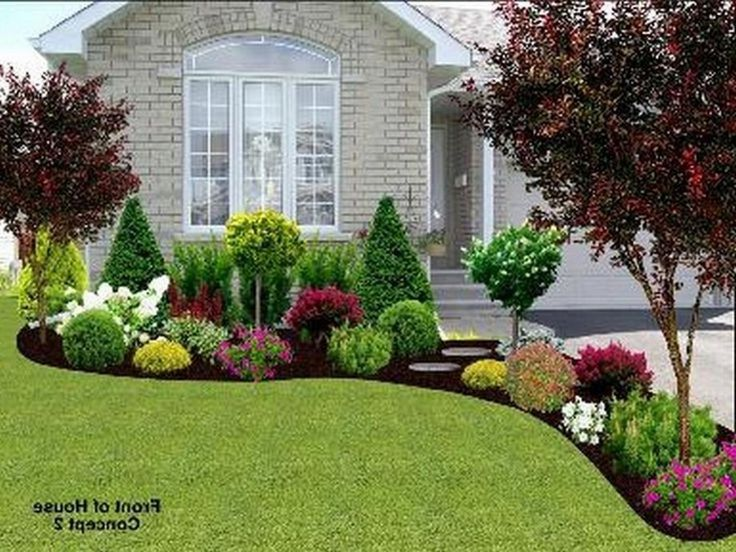 40 Beautiful Landscape Ideas For Front Of House – Diane Haddon