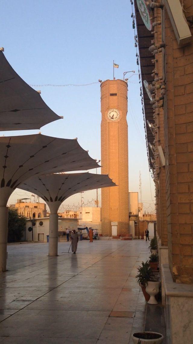 Clocktower at Abu Hanifa Mosque