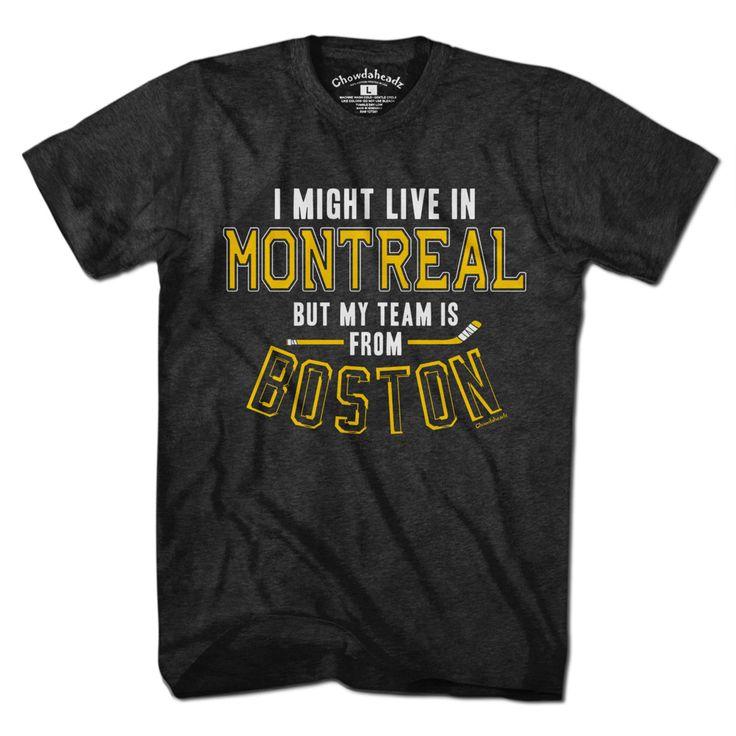 My Hockey Team Is In Boston T-Shirt