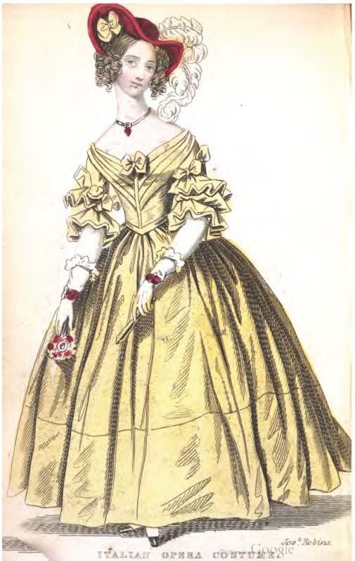 1837 dress 1830s amp1840s womens clothing pinterest