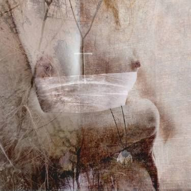 "Saatchi Art Artist Dagmar Lukes; Collage, ""Secret"" #art"