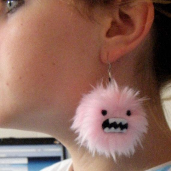 Monster earings