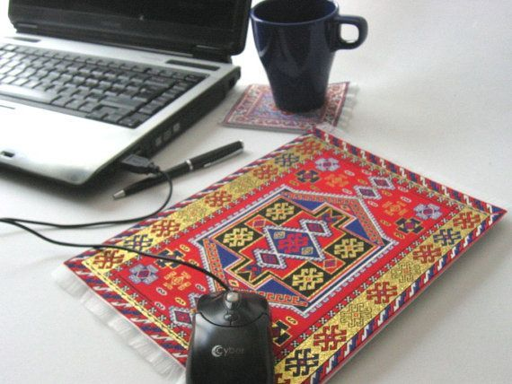 Allaaddin Flying Carpet Mouse Pad by oxishop on Etsy