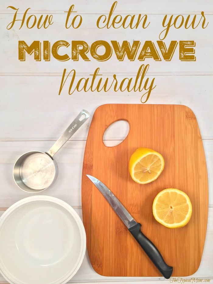 How to clean your microwave naturally. EASY way to get the grime to wipe right off!!