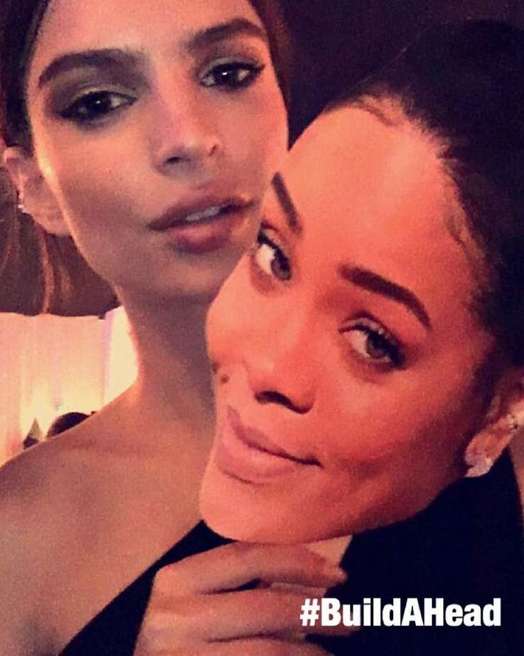 Rihanna and Emily Ratajkowski with these fun make your own face cutouts from Build-A-Head.