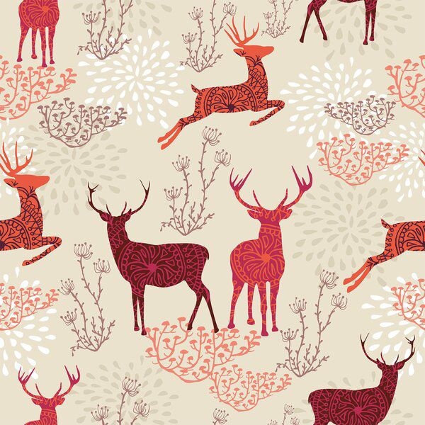 Ted Nature Themed Removable Peel And Stick Wallpaper Panel Nature Themed Background Patterns Seamless Patterns