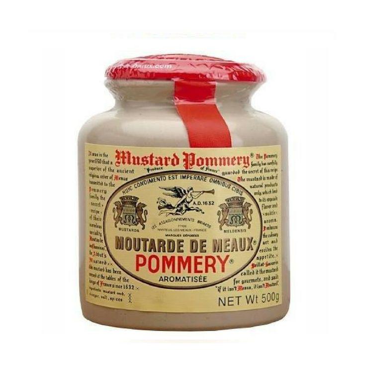 Moutarde de Meaux Mustard, Pommery - 17.6 oz jar $16