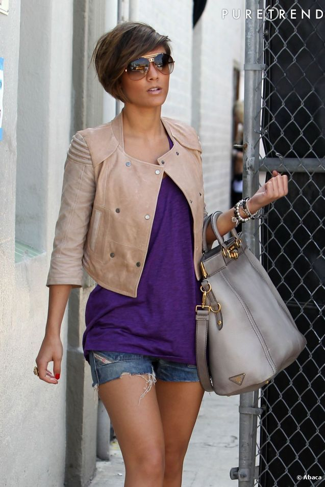 Frankie Sandford - how to wear a cropped coat