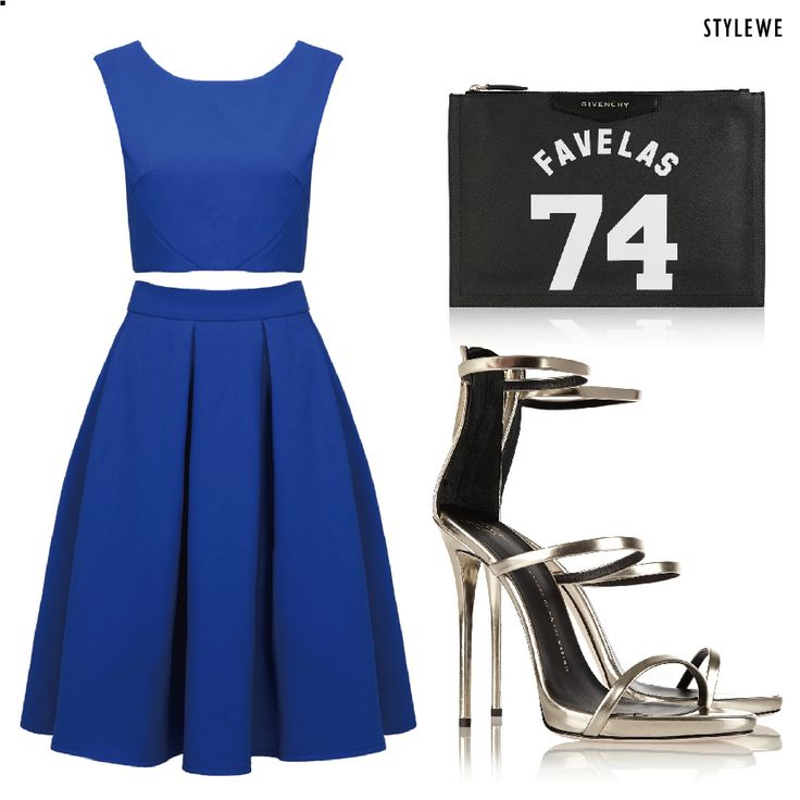 #dress Is it your style? #fashion #party #outfits #blue #women