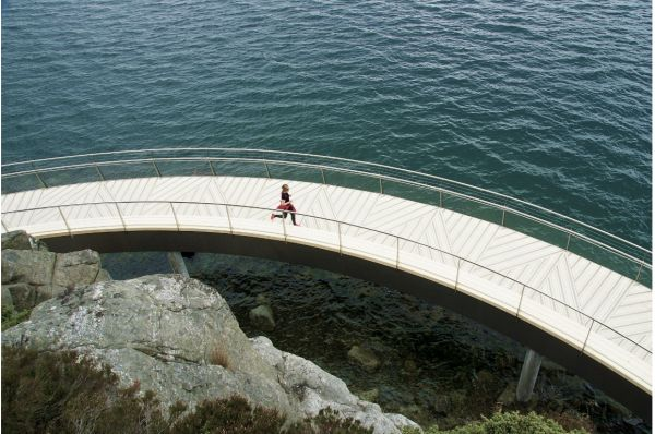 Accoya paves the way with spectacular walkway in Norway | Specification Online