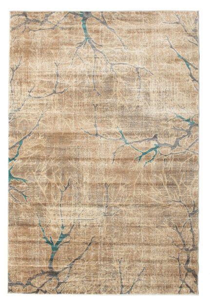 Estes tapetes modernos estão disponíves numa grande variedade de tamanhos e padrões, sendo um ponto focal na sua casa. Estes tapetes são feitos de um material plástico com características textêis, chamado PP Frieze.