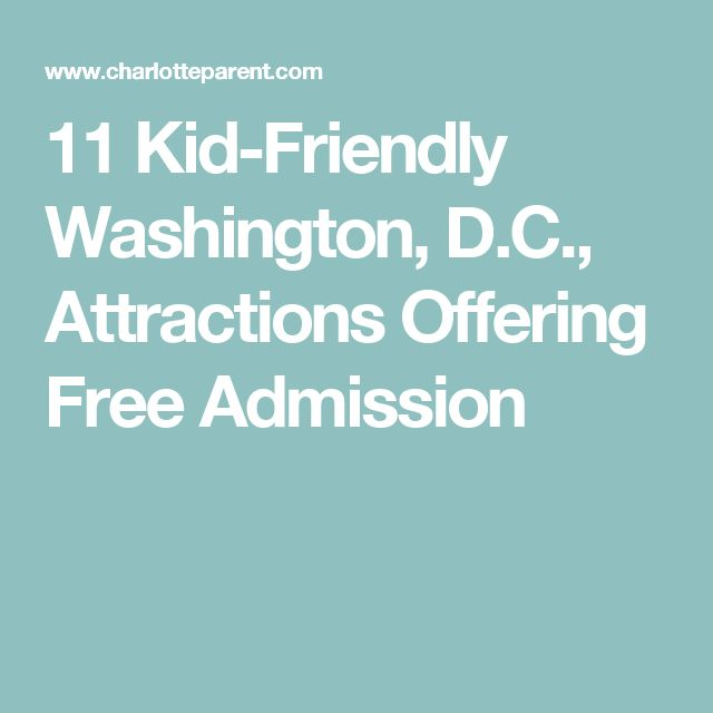 11 Kid-Friendly Washington, D.C., Attractions Offering Free Admission