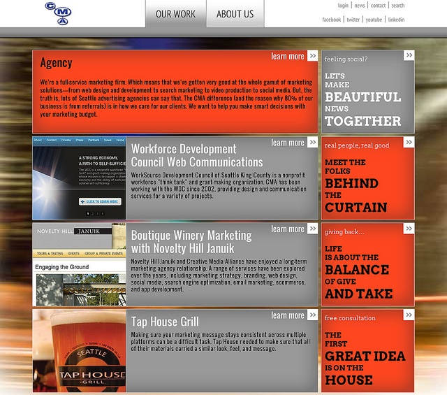Creative Media Alliance Website