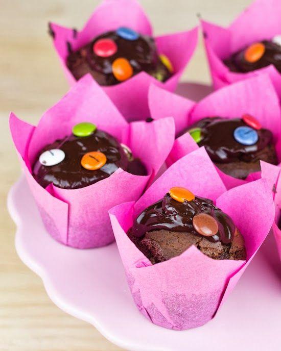 Objetivo: Cupcake Perfecto.: Muffins de lacasitos