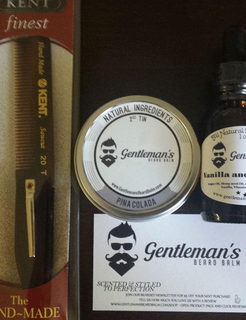 Beard Grooming Kit With Cream