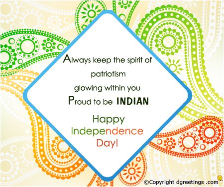 Proud to be an Indian ..